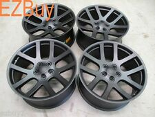 "22"" Dodge Ram 1500 SRT10 Style Set of Four New Matte Black Wheels Rims 2223"