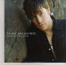 (CV98) Duncan James, Sooner Or Later - 2006 DJ CD