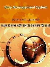 Time Management System by Paul Gerhardt (2014, Paperback)