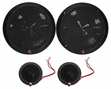 "Rockford Fosgate P165-SI Punch 240 Watt 6.5"" Car Component Speakers-Euro Fit"