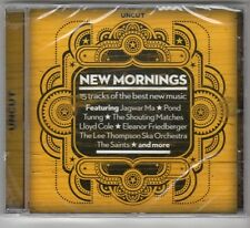 (GQ386) New Mornings, 15 tracks various artists - 2013 - Sealed Uncut CD
