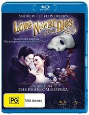 Love Never Dies (2011) (Australian Production) (Andrew Lloyd Webber) Blu-ray NEW