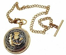 Gold Pocket Watch Quartz Pocket Watch Pocket Watches For Men With Engraving 60