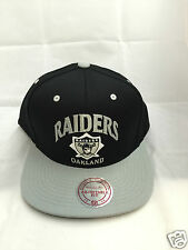 Mitchell And Ness Oakland Raiders Grand Arch Snapback NFL Hat Adjustable