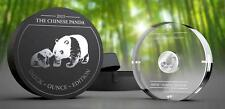 Gabon 2015 1000 Francs Chinese Panda Smick Ounce Edition 1oz Silver Coin
