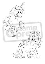 A7 'Unicornios's Desmontado sello de goma (SP002370)
