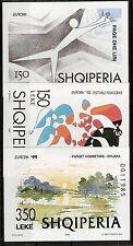 Europa CEPT,Albanien 1995, 1998, 1999, Mi Bl 104, 112 und 118 ** KW 19,50€