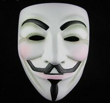 V vendetta costume masque Guy Fawkes ANONYME HALLOWEEN COSPLAY fête robe fantaisie