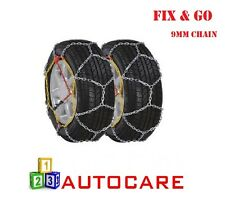 "9mm Snow Chains 13"" 155/80-13 To TRX 180/60-340 2 Pack Size 4 Sizes in Details"