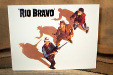 "John Wayne ""Rio Bravo"" Western Tabletop Display Movie Poster Standee 11"" Long"