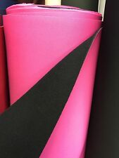 "Neoprene Water Proof Fabric 54"" Wide Pink Superior Quality£22/mtr 4mm Thick"