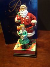 PIPKA Artist Proof Signed Yes, Virginia There Is A Santa Claus Figurine