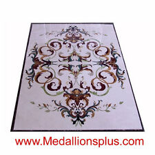 "36"" by 60""  FLOOR MEDALLION RECTANGLE TILE WATERJET POLISHED MARBLE  STONE"
