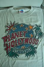 Planet Hollywood Ft Lauderdale Florida Beige Tee Size L XL-Fotos Neu