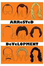 Original Arrested Development Art Print Poster Bluth Banana stand Tobias Funke