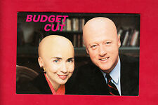 "President Bill Clinton & Hillary ""Budget Cut"" 1990's The American Postcard Co."