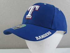 NWT Texas Rangers MLB Forty Seven Brand Adult Blue Adjustable Baseball Hat Cap