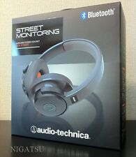 F/S NEW Audio Technica Bluetooth Ver.3.0+EDR Wireless Stereo Headset ATH-S700BT