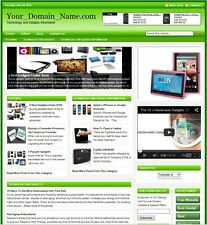 TECHNOLOGY & ELECTRONIC GADGETS WEBSITE BUSINESS FOR SALE! with TARGETED CONTENT