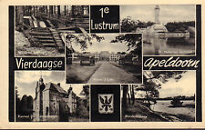 ANSICHTKAART APELDOORN 1e LUSTRUM VIERDAAGSE (1958)