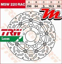 Disque de frein Avant TRW Lucas MSW 220 RAC pour Suzuki RGV 250 VJ21A 1989-1990