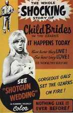 Shotgun Wedding 1962 Poster 01 Metal Sign A4 12x8 Aluminium