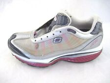 Skechers 7M Resistance silver pink white running womens ladies athletic shoes