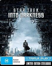 Star Trek Into Darkness - JB Hi-Fi Exclusive Limited SteelBook Blu-Ray Artwork 1