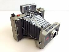 Vintage Polaroid Model 440 Instant Film and Land Camera w/ Built-In Timer Flash