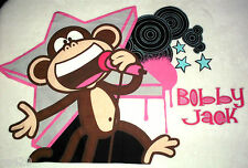 "25"" BOBBY JACK MONKEY ROCK STAR SET CHARACTER WALL SAFE FABRIC DECAL CUT OUT"