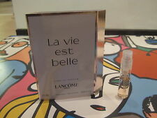 NEW!LA VIE EST BELLE EAU DE PARFUM SAMPLE,VIAL SPRAY!1.5 ML,SHIP WORLDWIDE!