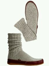 Acorn Slipper socks leather bottoms