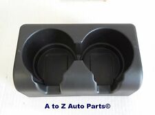 NEW 2004-2012 Chevrolet Colorado Rear Seat BLACK Cup Holder Insert, OEM