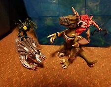 Turok Dinosaur Hunter Primagen Triceratops Bionosaur Joshua Fireseed Raptor lot