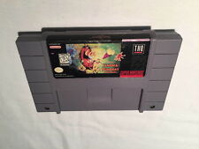 Timon & Pumbaa's Jungle Games (Super Nintendo SNES) Disney Game Cartridge Exc!