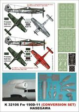 Montex Super Mask 1:32 Fw-190 D-11 for Hasegawa/Revell Conversion #K32106