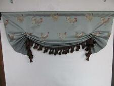 "Custom Designer London Butterfly Valance "" French Country "" LeCoq (Rooster) Spa"