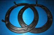 "7"" Headlamp Headlight Rubber Seals Rover P4 60, 75, 80, 90, 95, 100, 110 (pair)"