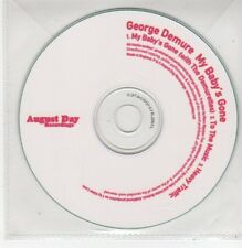 (FF679) George Demure, My Baby's Gone - DJ CD