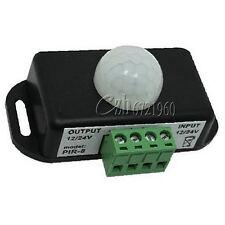 Automatic DC 12V-24V 8A Infrared PIR Motion Sensor Switch For LED light Hottest