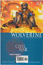 Wolverine #42 Civil War (2006) Marvel CGC Ready