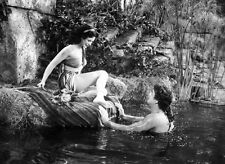 Hedy Lamarr and Victor Mature UNSIGNED photo - D1513 - Samson and Delilah