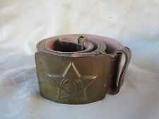 no ww2 cinturone sovietico originale soviet belt falce e martello