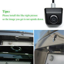 HD Waterproof Car Rear View Reverse Backup Parking Camera 170° Night vision CCD