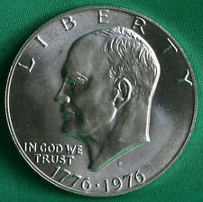 1976-S Eisenhower Dollar BU Silver 40% Ike $ 1976 S 40% Silver Uncirculated Coin