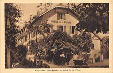 CPA 74 AMPHION HOTEL DE LA PLAGE