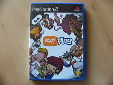 EyeToy: Play 1 (Sony PlayStation 2, 2003, DVD-Box) -ohne Kamera