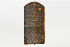 VINTAGE Louis Vuitton The French Luggage Co. Brown Canvas & Leather Garment Bag