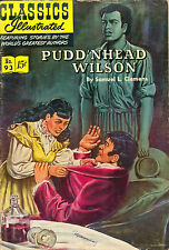 Classics Illustrated #93 - Pudd'nhead Wilson - Original March 1952