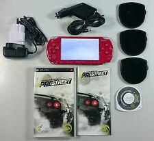 PSP Konsole Slim&Lite 2000 in rot + NFS ProSpeed